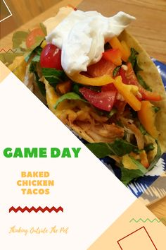 #OEPGAMEDAY Game Day Baked Chicken Tacos @OldElPaso @Walmart