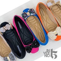São tantas opções que fica difícil escolher apenas uma! Camminare Inverno 2015 #love #shoes #amamostudoisso <3 *-*