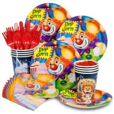 Purchase Circus Party Standard Kit Serves 8 Guests and other All Parties party supplies. The most popular party Supplies and Decorations, all available at wholesale prices!