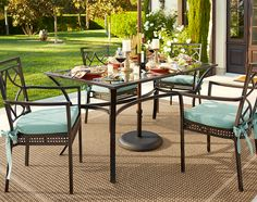 Our Elegant La Palma Collection: The Back Patio Is Now The Dining Room. #