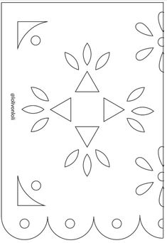 It's just a graphic of Insane Papel Picado Templates Printable