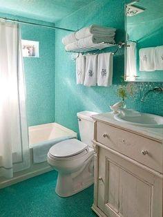 Морская тема в ванной: 11 идей фото 5