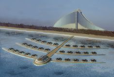 future, Solar Floating Resort ...