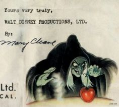 Flagrantly sexist rejection letter from Disney to an aspiring animator, 1938
