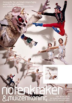 my latest posters for the dutch national ballet