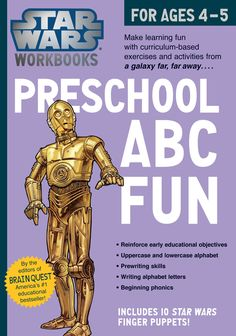 The Force is strong with this series! Introducing a line of workbooks that marries the iconic popularity of Star Wars with the unique mix of editorial quality, fun presentation, and rigorous education