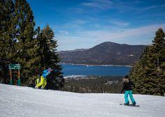 Boarding at Snow Summit. Love the view of Big Bear Lake, California. Big Bear Mountain, Big Bear Lake, Snowboarding, Skiing, Mountain Resort, Online Tickets, California, Culture, Mountains