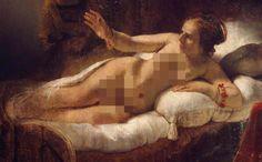 Rembrandt_Danaë