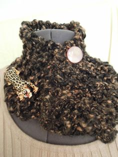 A Moonlight Prowl Cowl by CaughtMyEyeDesigns on Etsy, $45.00