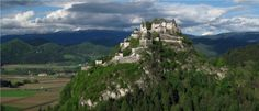 Burg Hochosterwitz in Launsdorf / St. Carinthia, Heart Of Europe, Monument Valley, Mount Rushmore, Mountains, Places, Travel, Image, Castles
