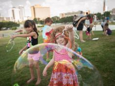 Check out slide 7 for my little superstar! Bubblepalooza provides full-blown fun for Austinites of all ages.