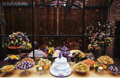 Chá no Jardim {Casamentos e Inspirações}: Mesa de Doces {Colorido}
