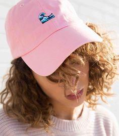Pink Wave Emoji Hat