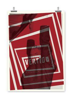 Vertigo [Alfred Hitchcock, 1958] «Alfred Hitchcock: Movie Posters Author: Abbas Mushtaq»