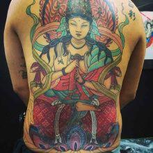 Tattoo Japanese God