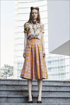 Mila Schön Resort2016 #Look14 Midi Skirt, Two Piece Skirt Set, Skirts, Dresses, Fashion, Vestidos, Moda, Fashion Styles, Skirt