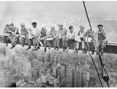 Art.com Lunch Atop a Skyscraper c.1932