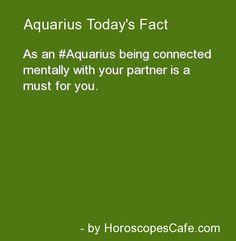 Aquarius Daily Fun Fact | Hmm... I wonder what Jessi thinks of this.