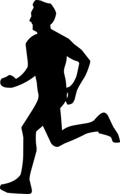 Free Image on Pixabay - Running, Man, Silhouette, Runner Free Pictures, Free Images, Prepaid Cell Phone Plans, Running Silhouette, Funny Animal Quotes, Outline Drawings, Stencil Art, Running Man, Make A Donation