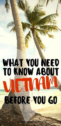 Here's everything you need to know about Vietnam before you go. #Vietnam