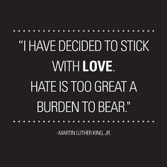 MLK Stick with Love