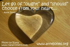 Choose from your heart...