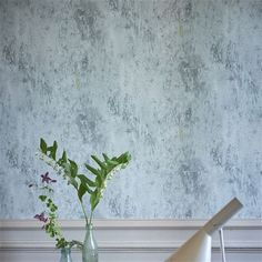 michaux - slate blue wallpaper