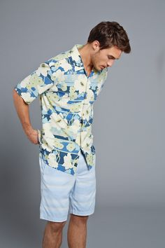 Tommy Bahama® Short Sleeve Beaucoup Blooms Woven Shirt is a fun gift for Dad!