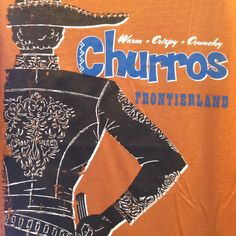 Disney food tshirts -Churros