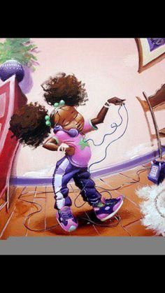 Ideal painting for a little girls room.