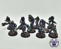 Necromunda Gang - Van Saar #ChaoticColors #commissionpainting #paintingcommission #painting #miniatures #paintingminiatures #wargaming #Miniaturepainting #Tabletopgames #Wargaming #Scalemodel #Miniatures #art #creative #photooftheday #hobby #paintingwarhammer #Warhammerpainting #warhammer #wh #gamesworkshop #gw #Warhammer40k #Warhammer40000 #Wh40k #40K #Imperium #Necromunda #NecromundaGang #VanSaar Necromunda Gangs, Warhammer 40000, Tabletop Games, Gw, Miniatures, Creative, Model, Painting, Color