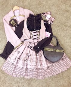 Angelic Pretty Chocolate Coord