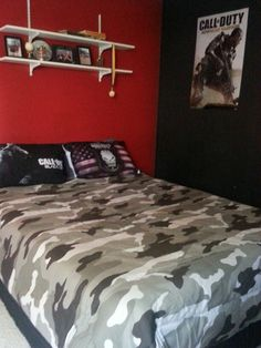 Call of Duty Room bedding purchssed on amazon