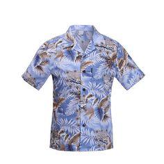 491266bcad6 Palmwave Hawaiian Shirt Men Standard US Size Leisure Holiday Vacation The  Beach Shirts Short Sleeve Printed Cotton Shirt A931-in Casual Shirts from  Men s ...