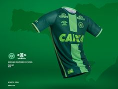 Terceira camisa da Chapecoense 2016-2017 Umbro kit