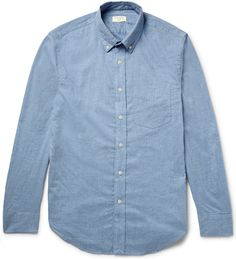 Club Monaco cotton-flannel shirt.