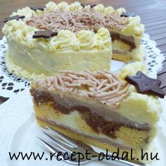 Torte Cake, Hungarian Recipes, Cake Cookies, Nutella, Cake Recipes, Cheesecake, Food And Drink, Yummy Food, Sweets