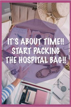 What is the ideal time to pack your Hospital Bag? Start Pack, Hospital Bag, Childcare, My Children, Pregnancy, Packing, Parenting, Mothers, Fun