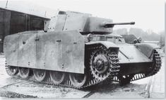 Toldi III 'Hungarian Light Tank , - improved variant, only 12 made. World Of Tanks, Armoured Personnel Carrier, General Motors, Military Armor, Tank Destroyer, Armored Fighting Vehicle, Ww2 Tanks, World War One, Armored Vehicles