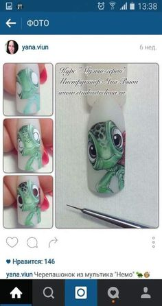 trendy nails art step by step micropainting Love Nails, Fun Nails, Nail Art Dessin, Engagement Nails, French Nail Art, Painted Nail Art, Disney Nails, Flower Nail Art, Toe Nail Designs