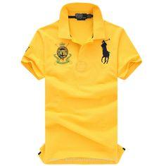2014 t-shirt ralph lauren homme polo ville pas cher magasin 311 jaune  Acheter Ralph Lauren Pas Cher 1b0b2517274e