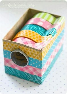 Washi Tape DIY display