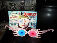 DIY Quibbler Ornaments! Visit my site for free home use only template downloads ;)