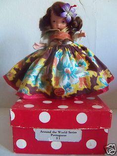 BISQUE NANCY ANN STORYBOOK DOLL #31 PORTUGUESE -  MS PT MINT IN BOX W/ STICKER
