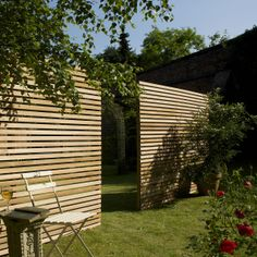 for front garden. Western Red Cedar Slatted Screen Boards 19 x 38mm