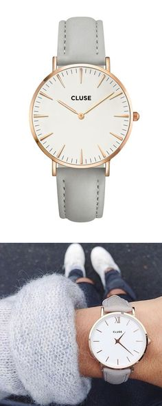 Shop our range of gorgeous Cluse watches. off your first order with code: – [pin_pinter_full_name] Shop our range of gorgeous Cluse watches. off your first order with code: Accessoires Divers, Cool Watches, Wrist Watches, Simple Watches, Ladies Watches, Fashion Watches, Fashion Rings, Neue Trends, Women's Accessories