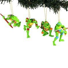 TMNT Ninja Turtles Kurt Adler Blow Mold Ornament Set Gift Boxed (Retro Turtles) Nickelodeon http://smile.amazon.com/dp/B015Q85E4M/ref=cm_sw_r_pi_dp_.SAEwb0EB9M6G