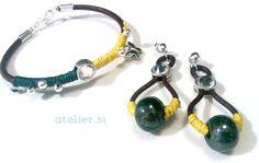 #Pulsera y #pendientes #Bracelet and #earrings www.facebook.com/atelier51.Plasencia http://www.atelier51handmade.com
