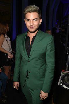 Adam Lambert - Backstage at the iHeartRadio Music Awards