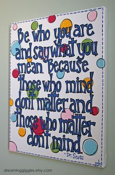 dr. seuss canvas - Google Search